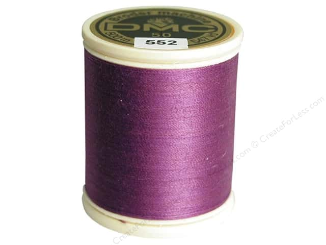 DMC Cotton Machine Embroidery Thread 50 wt. #552 Medium Violet