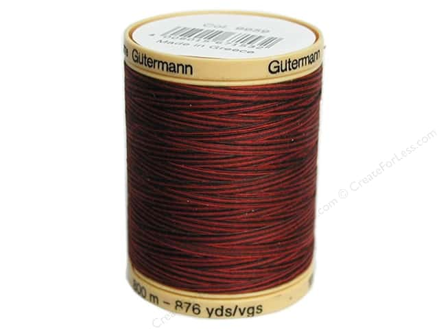 Gutermann 100% Natural Cotton Sewing Thread 875 yd. #9959 Variegated Berry Berry