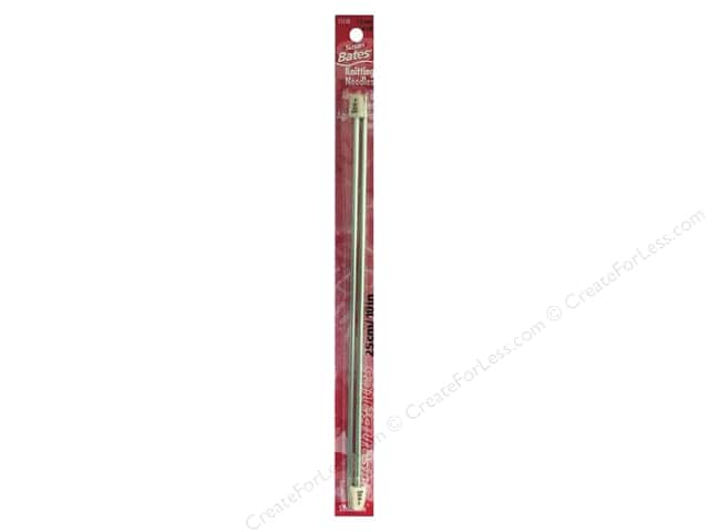 Susan Bates Silvalume Single Point Knitting Needles 10 in. Size 4 (3.5 mm)