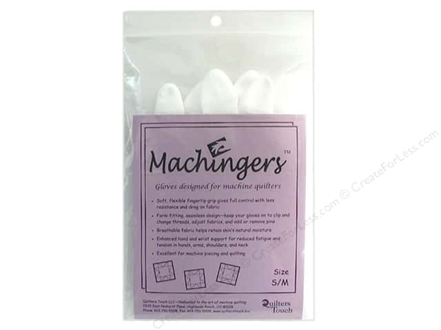 Quilters Touch Machingers Gloves Small/Medium