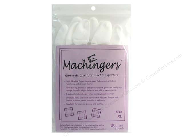 Quilters Touch Machingers Gloves Extra Large