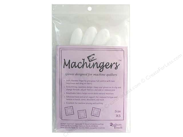 Quilters Touch Machingers Gloves - Petite