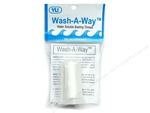 YLI Wash-A-Way Thread 500 yd.