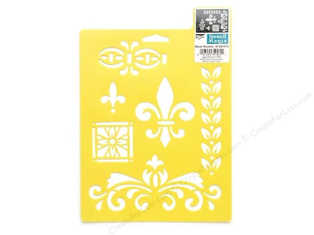 Delta Stencil Mania 7 x 10 in. Decor Accents