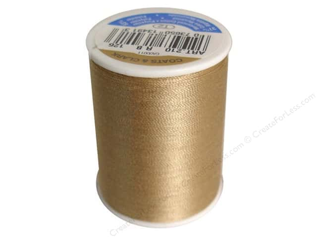 Coats & Clark All Purpose Thread 300 yd. #126 Khaki