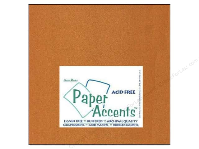 Paper Accents Cardstock 12 x 12 in. #886C Pearlized Copper (25 sheets)