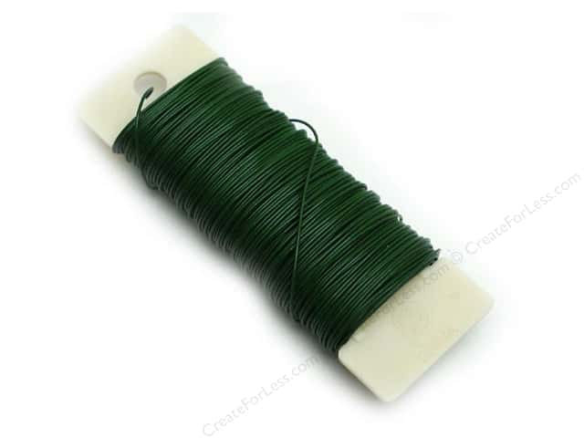 Panacea Paddle Wire 24-Gauge 1/4 lb. Green