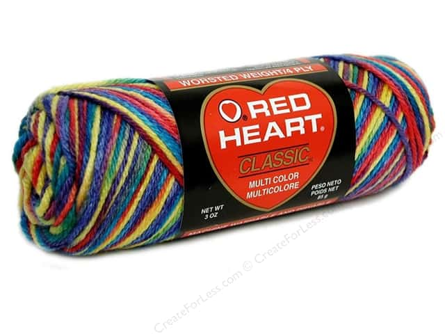 Red Heart Classic Yarn 146 yd. #168 Star Brights
