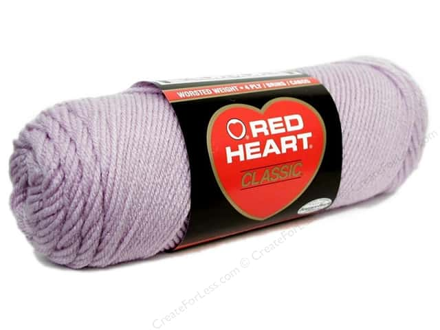 Red Heart Classic Yarn 190 yd. #579 Light Lavender