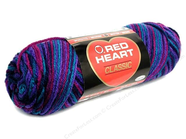 Red Heart Classic Yarn 146 yd. #959 Gemstone