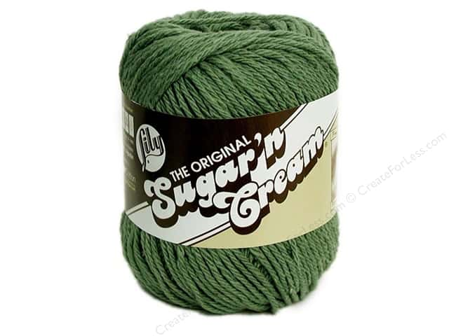 Lily Sugar 'n Cream Yarn  2.5 oz. #84 Sage Green