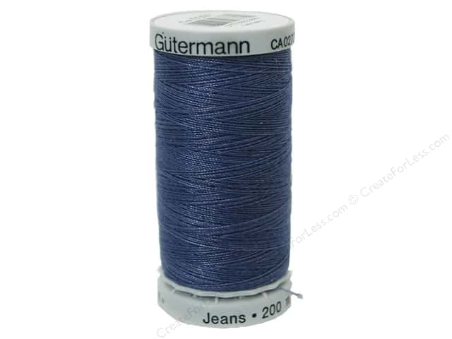 gutermann sulky ca02776 special purpose threads gutermann jeans thread 220 yd washed denim - Gutermann Thread Color Chart