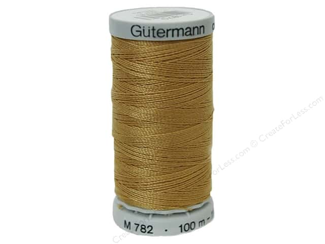 Gutermann Jeans Thread 110 yd. Gold