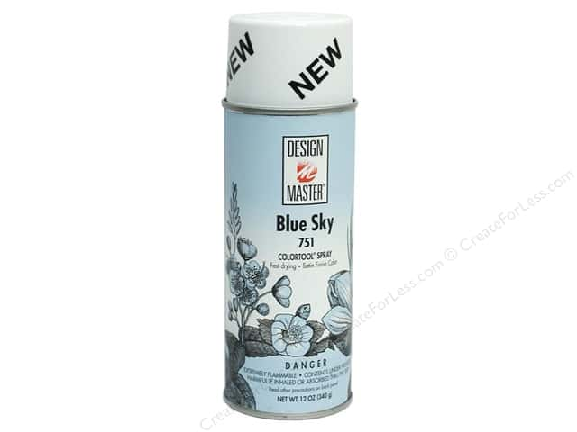 Design Master Colortool Spray Paint #751 Blue Sky 12 oz.