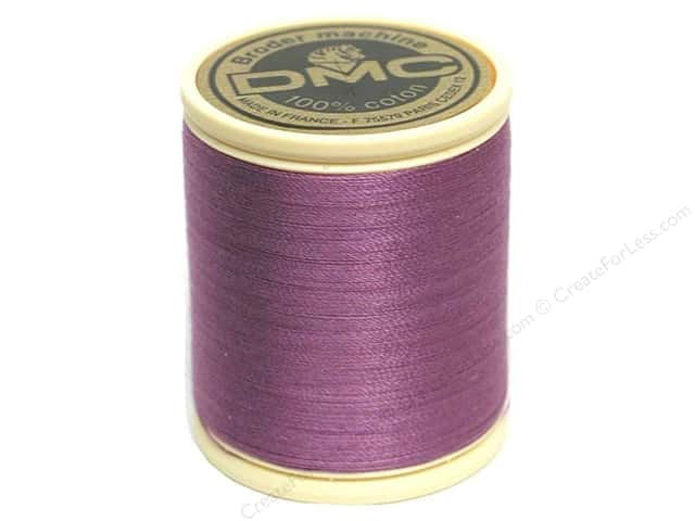DMC Cotton Machine Embroidery Thread 50 wt. 547 yd. #209 Dark Lavender