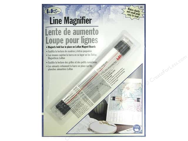 Line Magnifier by LoRan 6 in.