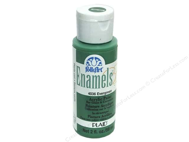 Plaid FolkArt Enamels Paint 2 oz. #4036 Evergreen