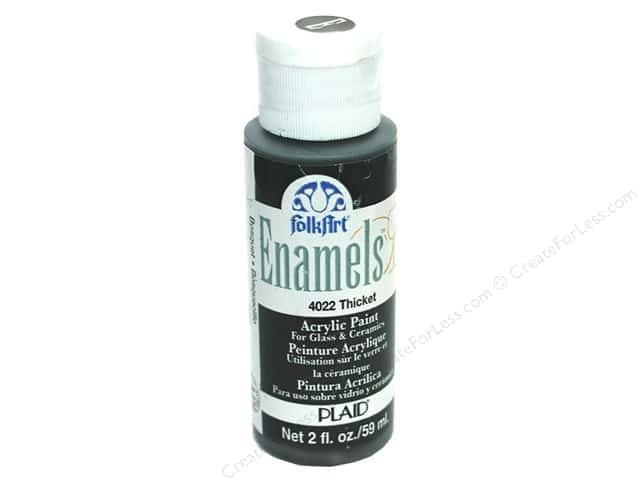 Plaid FolkArt Enamels Paint 2 oz. #4022 Thicket