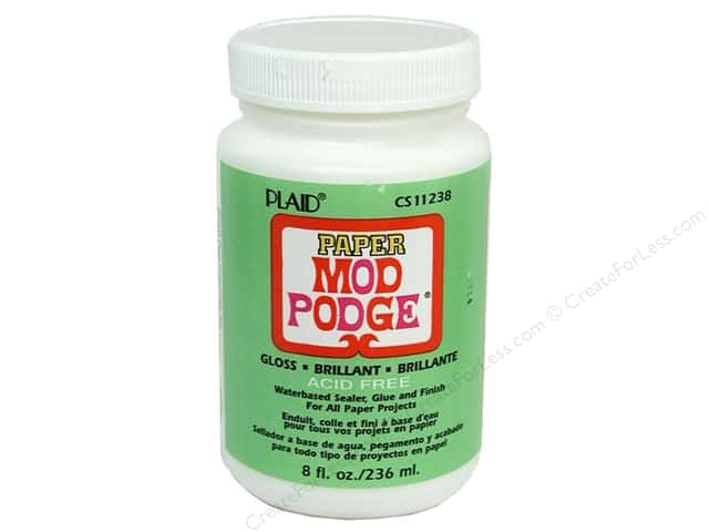 Plaid Mod Podge Paper 8 oz. Gloss