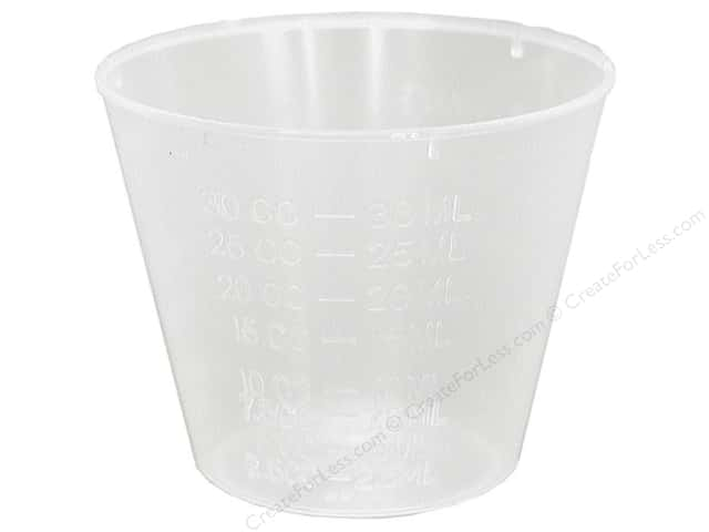 Castin'Craft Mixing Cup Graduated 1oz (100 pieces)