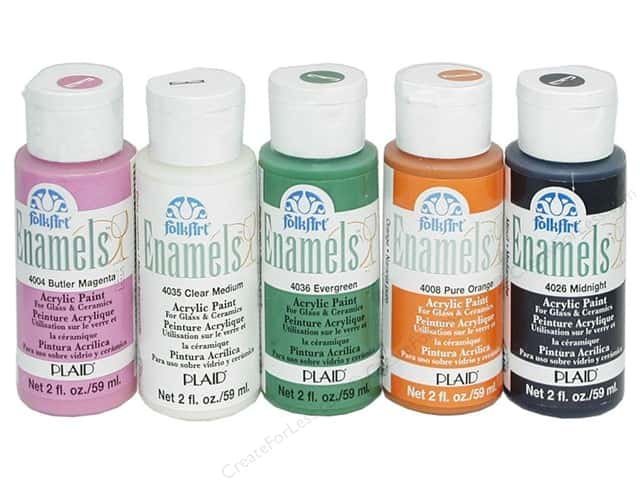 Plaid FolkArt Enamels Paint 2oz
