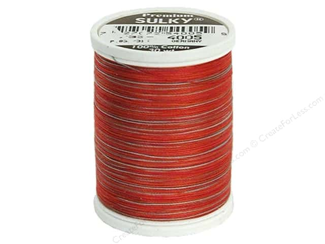 Sulky Blendables Cotton Thread 30 wt. 500 yd. #4005 Strawberry Daiquiri