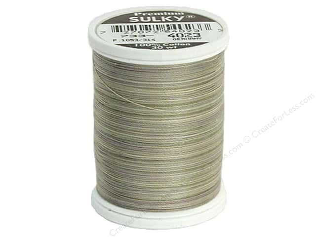 Sulky Blendables Cotton Thread 30 wt. 500 yd. #4023 Natural Taupe