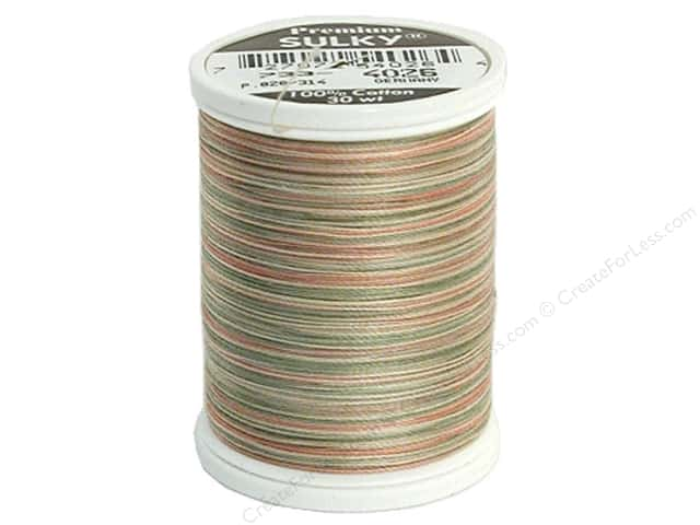 Sulky Blendables Cotton Thread 30 wt. 500 yd. #4026 Earth Pastels