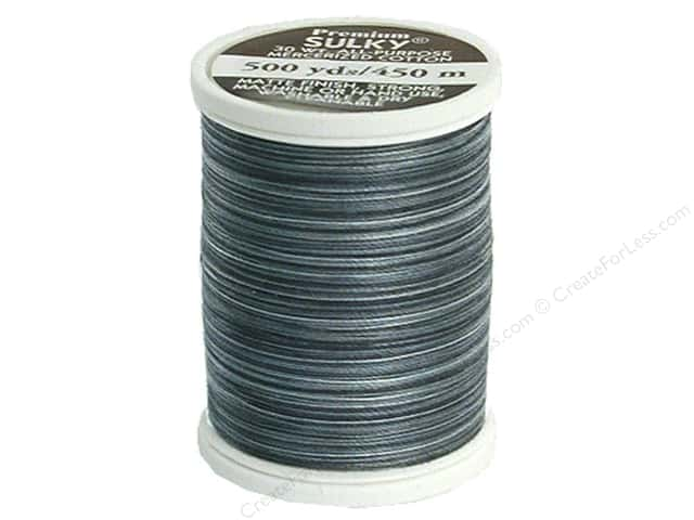 Sulky Blendables Cotton Thread 30 wt. 500 yd. #4028 Storm Clouds