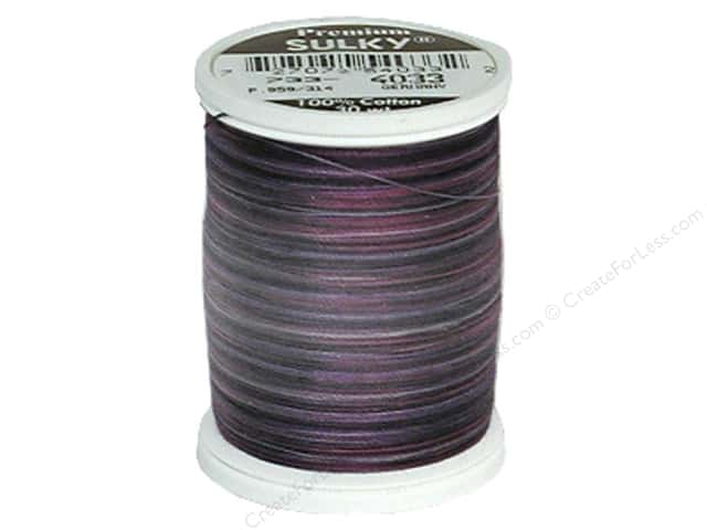 Sulky Blendables Cotton Thread 30 wt. 500 yd. #4033 Grape Wine