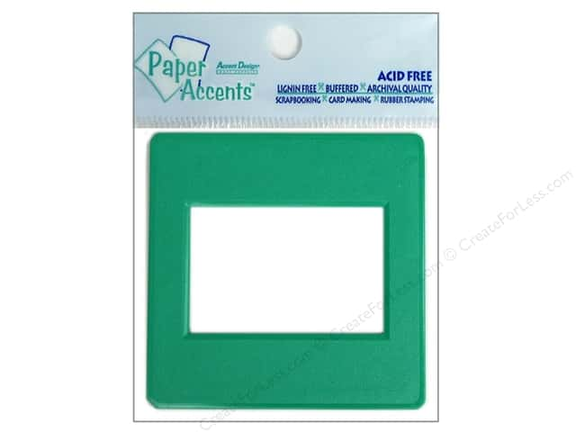 Paper Accents Slide Frame 5 pc Green
