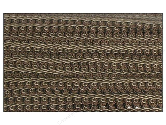 Conso Princess French Gimp Braid Trim 1/2 in. Marine, Tobacco & Artichoke (36 yards)