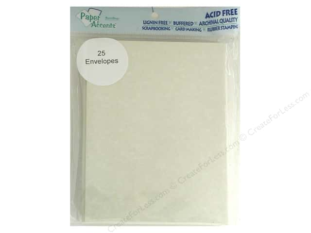 4 1/4 x 5 1/2 in. Envelopes by Paper Accents 25 pc. #203 Parchment Natural