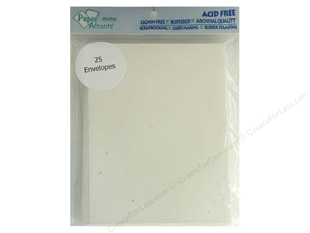 4 1/4 x 5 1/2 in. Envelopes by Paper Accents 25 pc. #302 Recycled Birch