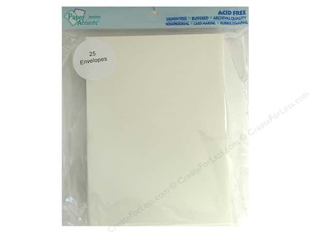5 x 7 in. Envelopes by Paper Accents 25 pc. #119 Cream