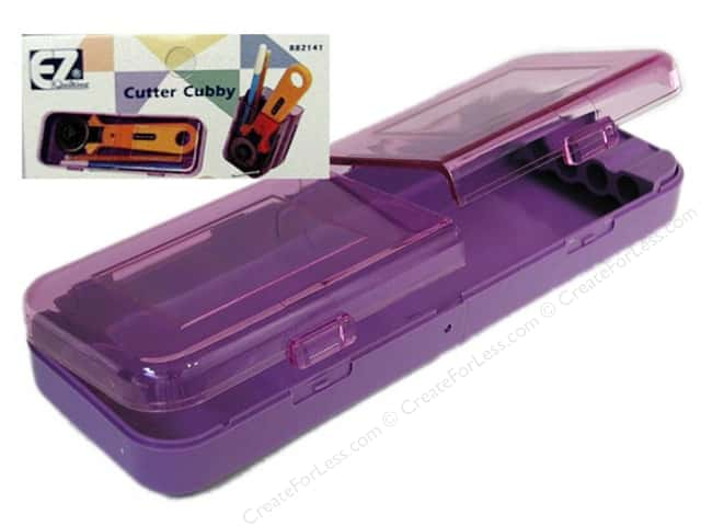 EZ Quilting Cutter Cubby 1 pc. Purple