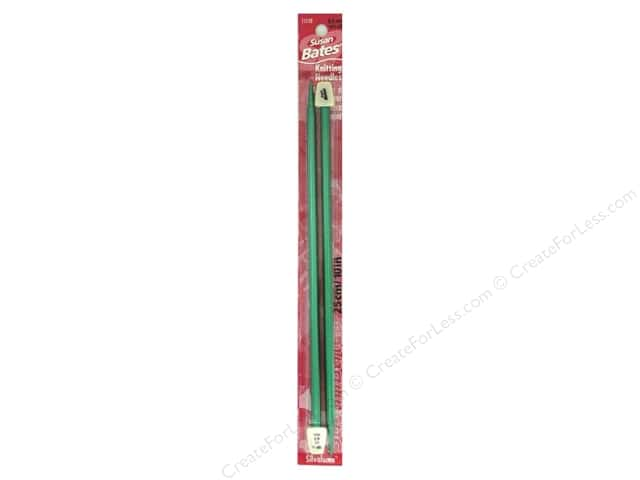 Susan Bates Silvalume Single Point Knitting Needles 10 in. Size 10.5 (6.5 mm)