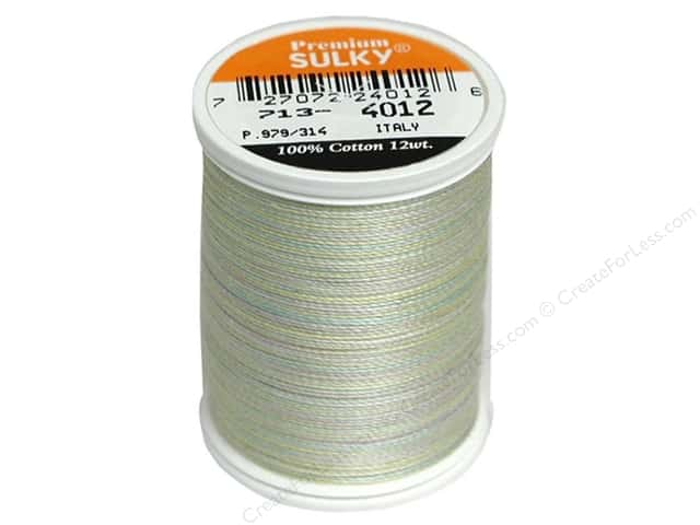 Sulky Blendables Cotton Thread 12 wt. 330 yd. #4012 Baby Soft