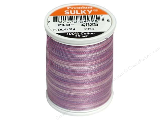 Sulky Blendables Cotton Thread 12 wt. 330 yd. #4025 Hydrangea