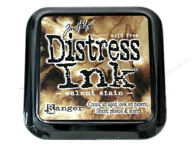 Tim Holtz Distress Ink Pad by Ranger Walnut Stain