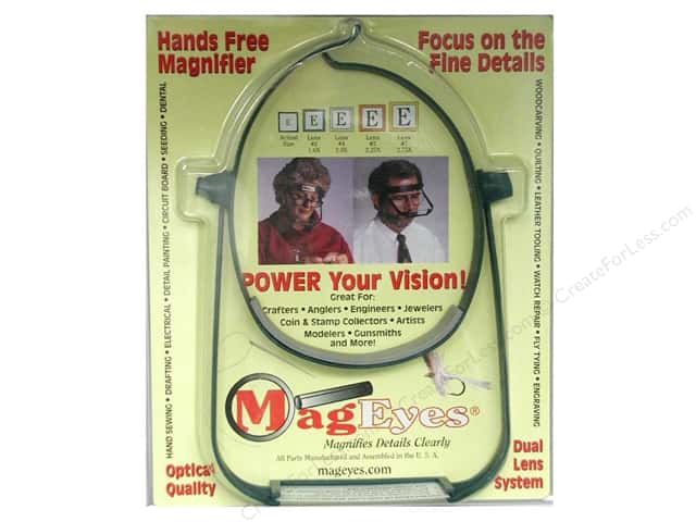MagEyes Hands Free Magnifiers with #5 & #7 Lenses
