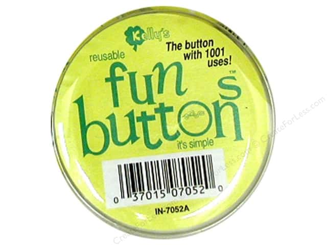 Kelly's Fun Button With Insert 2.25