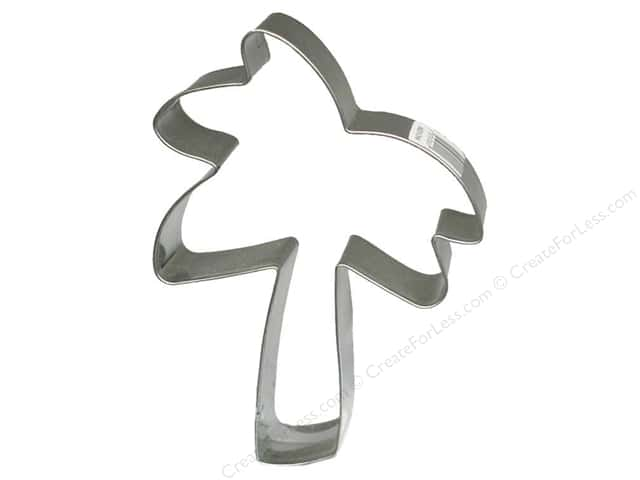 Fox Run Cookie Cutter 3 in. Palm Tree