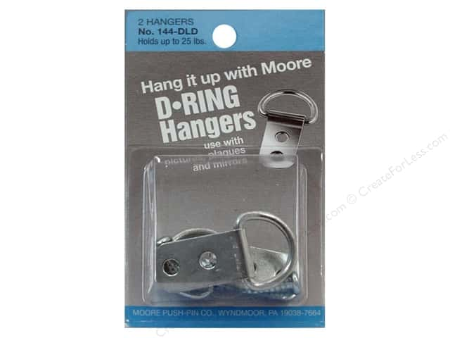 Moore D Ring Large 2 Screws 2 pc