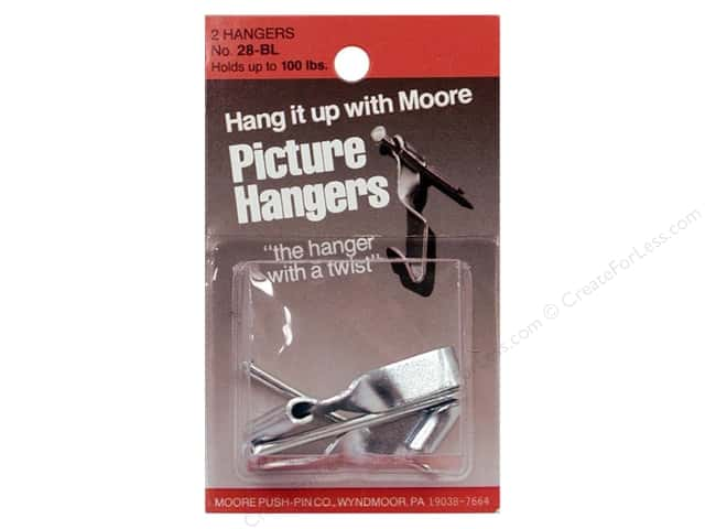 Moore Hardware Mirror Clip & Screw 4pc Metal
