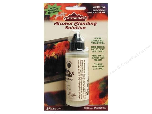Ranger Tim Holtz Alcohol Ink Adirondack Blending Solution 2oz