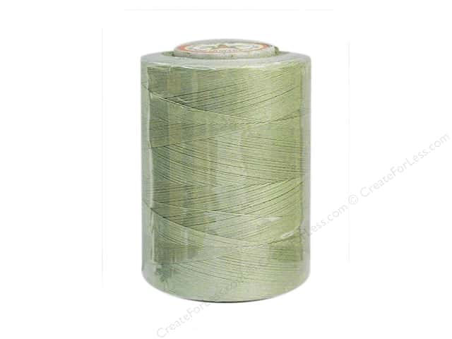 Coats Cotton Machine Quilting Thread 1200 yd. #347 Green Linen