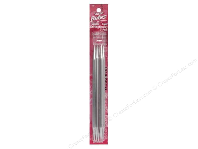 Susan Bates Double Pointed Knitting Needles 7 in. Size 11 (8 mm) 5 pc.