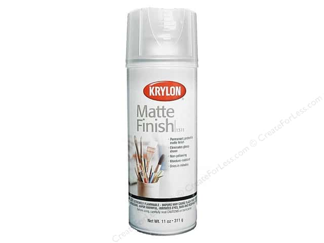 Krylon Artist Sprays Matte Finish 11oz