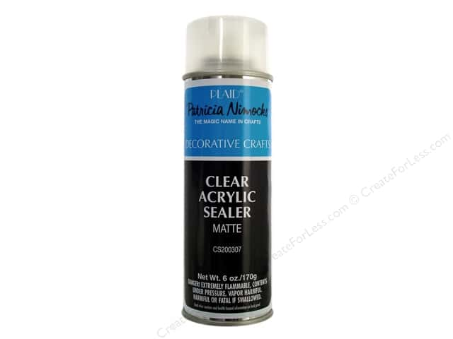 Plaid Patricia Nimocks Clear Acrylic Sealer 6 oz. Matte